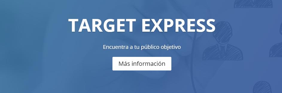 Target Express - Targeting - Geomarketing - España